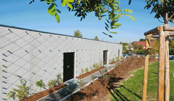 vegetalisation de facades avec cables inox. Black Bedroom Furniture Sets. Home Design Ideas
